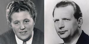 Firmengründer Hans Nützel und Ehefrau Emma legten den Grundstein für die Unternehmenskultur
