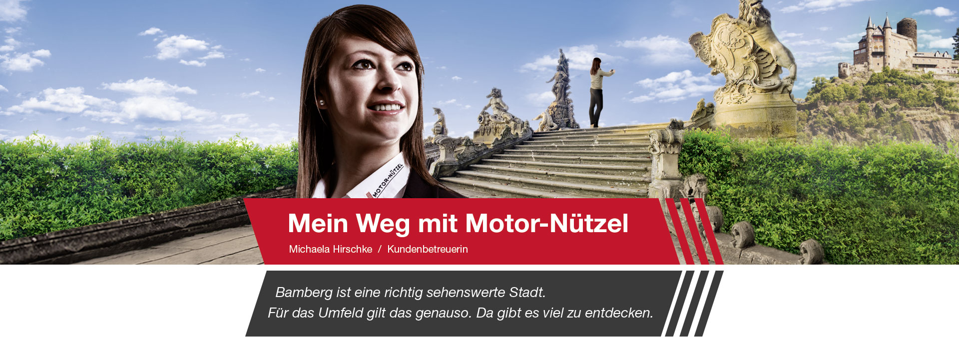 Michaela Hirschke ist Kundenbetreuerin bei Motor-Nützel